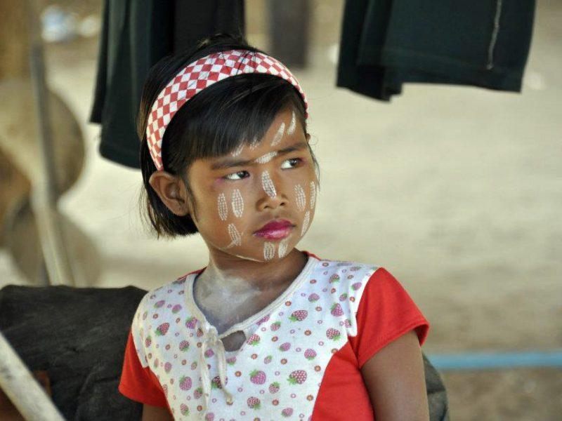 Moken girl at the Surin Islands