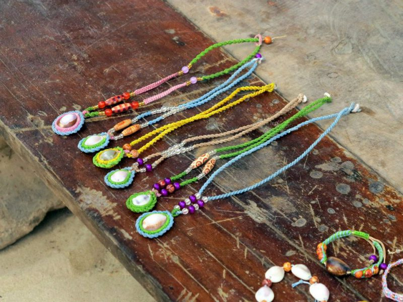Moken handicrafts at Surin