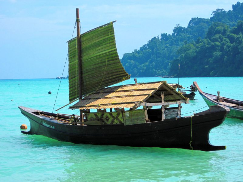 Moken kabang at the Surin Islands