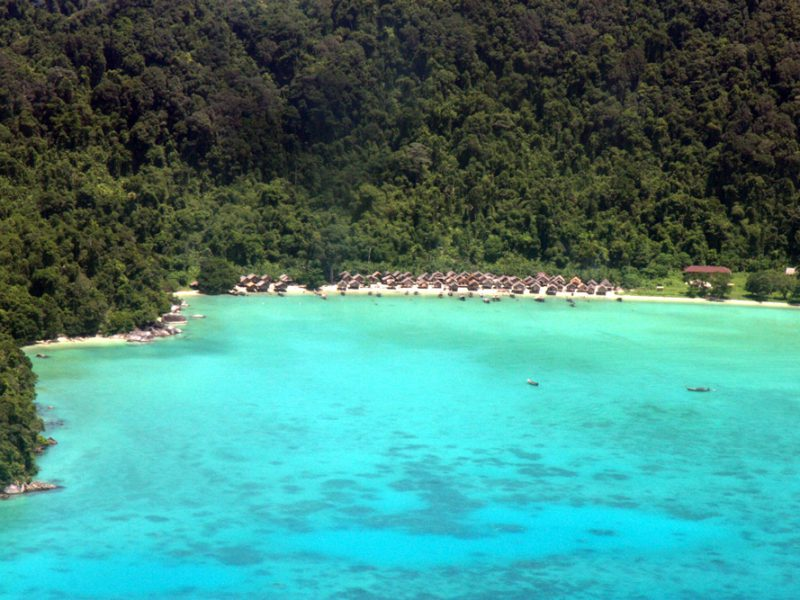 The Moken village at the Surin Islands