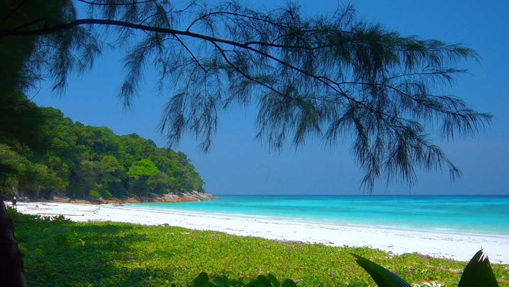 one Thailand's best beaches, Koh Tachai