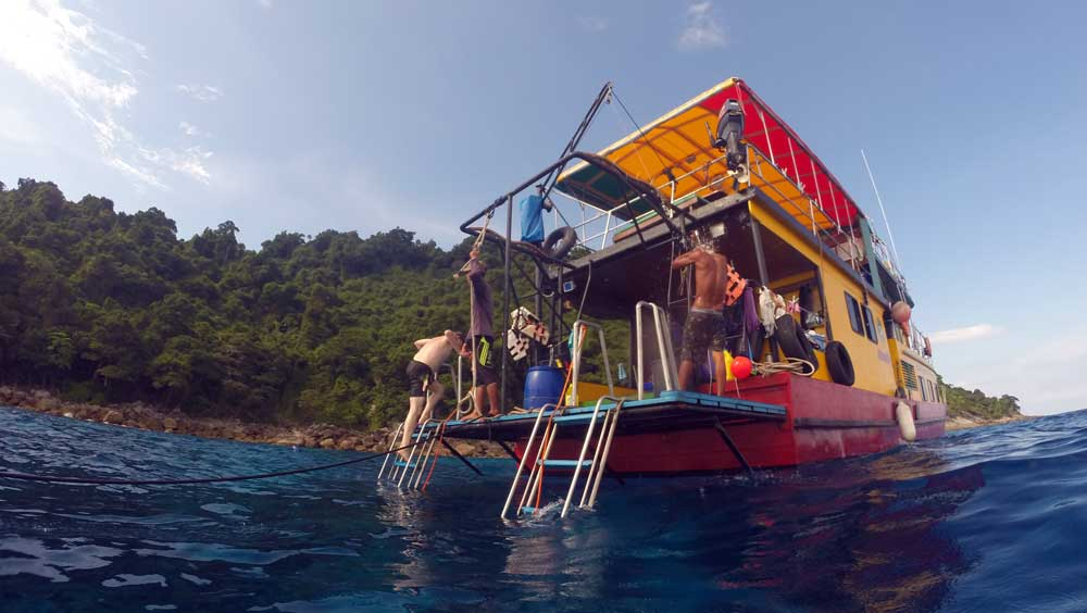 Snorkelling the best times at Koh Tachai