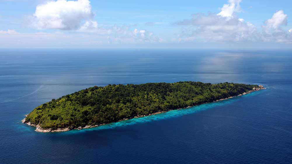 The Similan Islands make for best Thailand Snorkeling