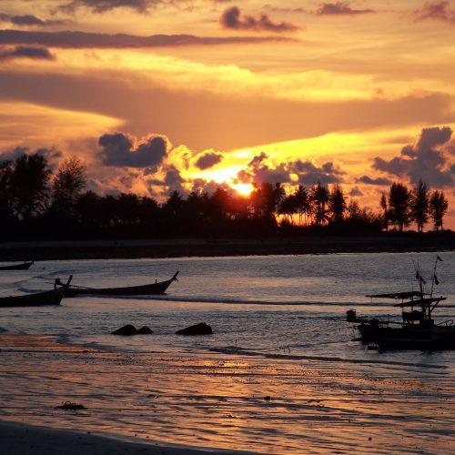 Sonnenuntergang in Khao Lak by Heidi Braun