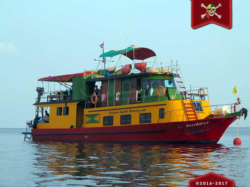 Reggae Queeen snorkelling liveaboard