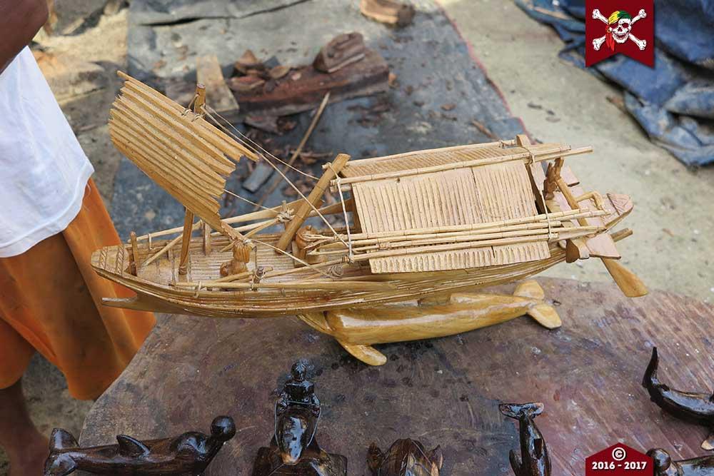 Model Moken Boat