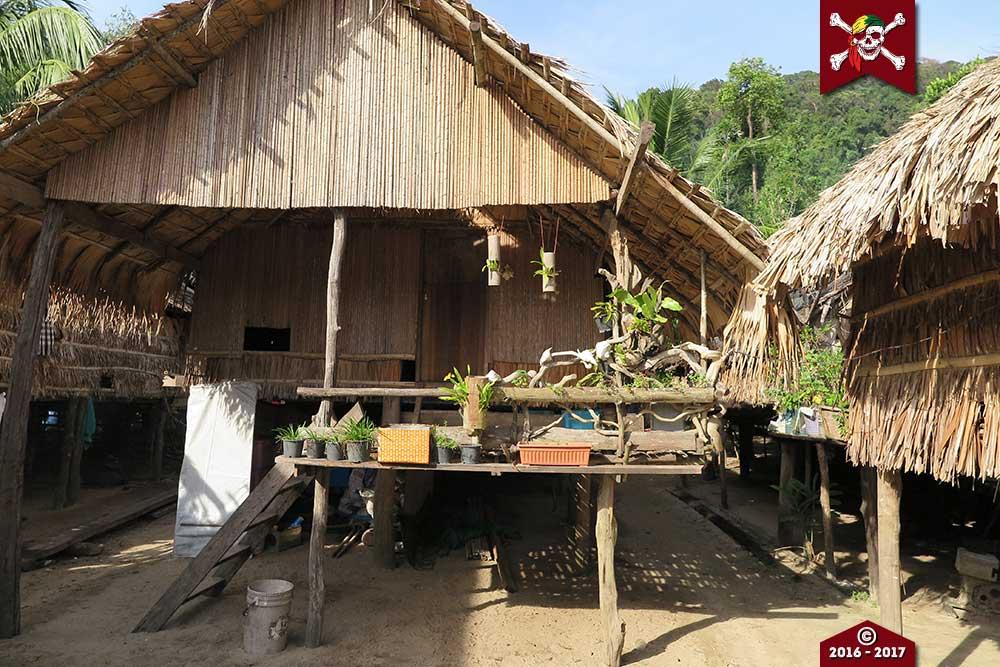 Moken Hut