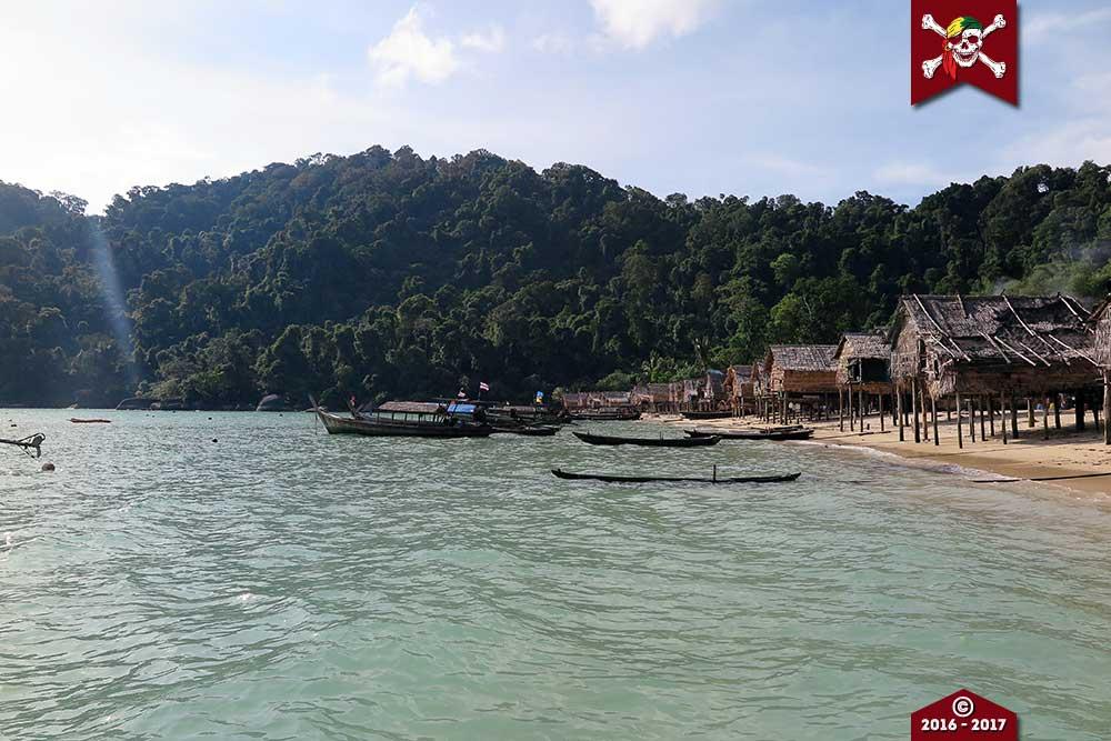 The Moken Village at the Surin Islands