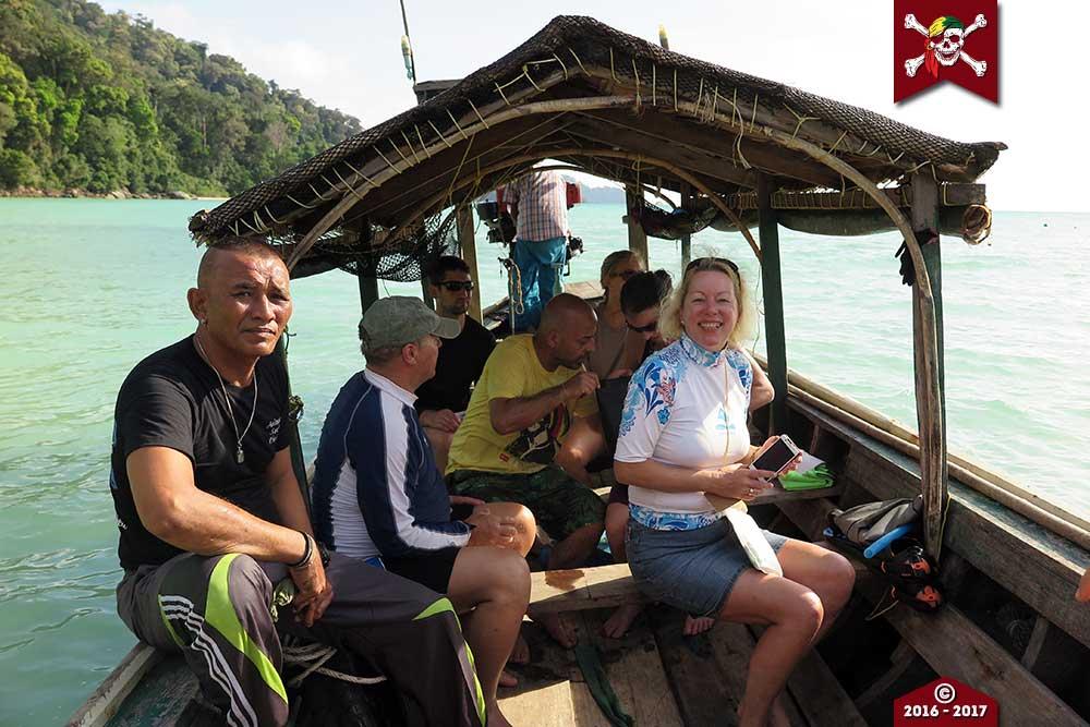 Moken Longtail Boat