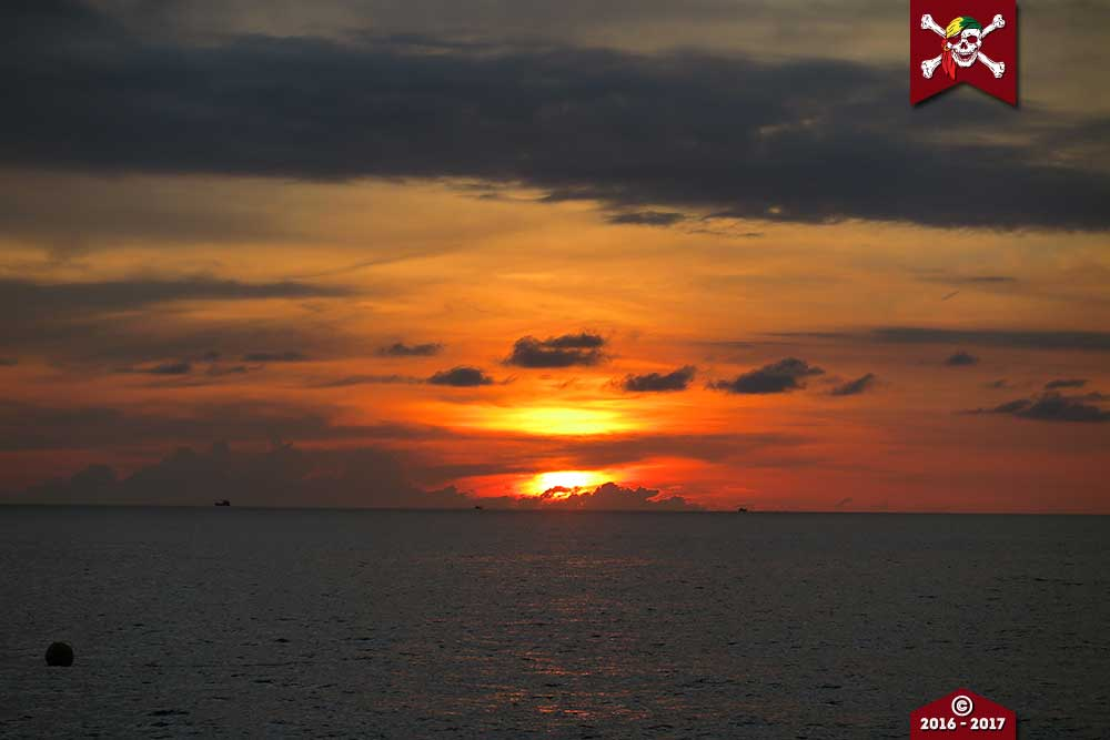 Sunrise from the Surin Islands