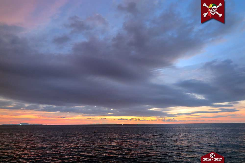 Sunrise over the Andaman Coastline