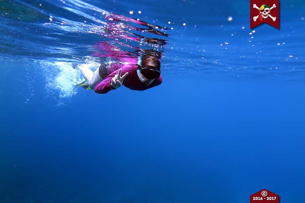 Fun snorkelling in the SImilan Islands