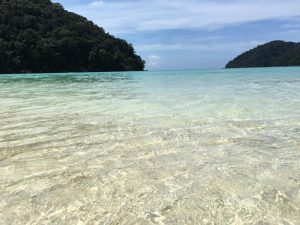 Clear water in Surin